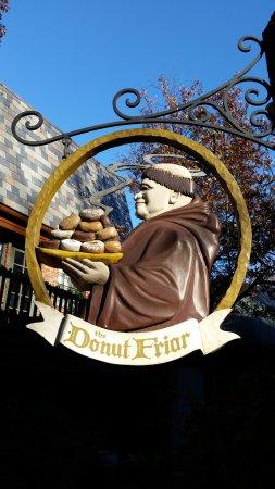 Donut Friar: Street Sign