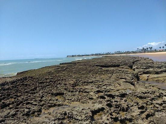 Barra de Santo Antonio, AL: Praia Tabuba