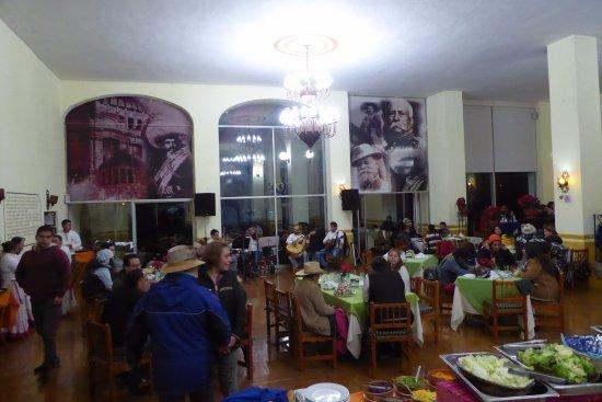Mision La Muralla: el restaurante
