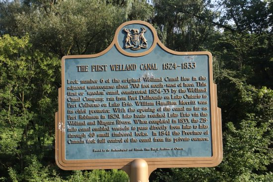 St. Catharines, Kanada: About the First Welland Canal