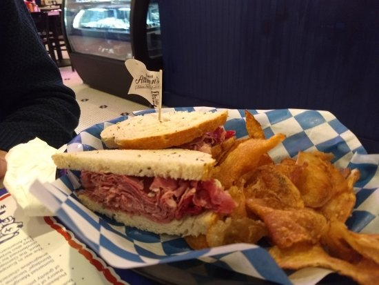 Potomac, MD: Corned Beef sandwich