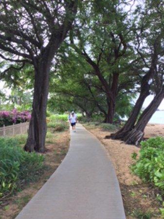 The Westin Maui Resort & Spa, Ka'anapali: beach walk from the hotel