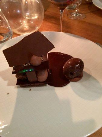 Lauris, Frankrike: Best chocolate desert ever
