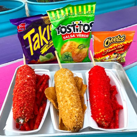 Are Hot Cheetos Mexican Food
