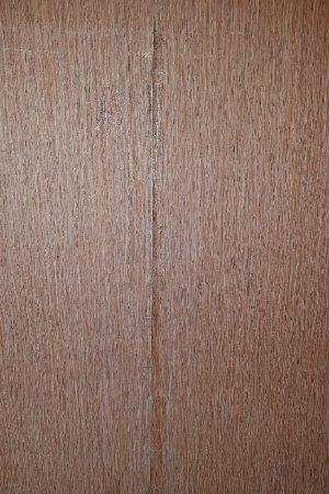 Lumberton, NC: Peeling wallpaper in breakfast area stapled together