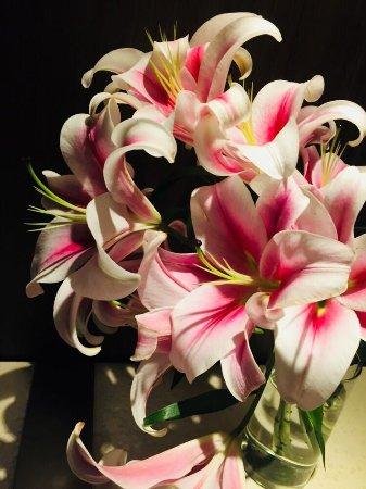 Hyatt Regency Delhi: Beutiful Lily's