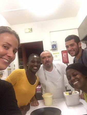 Le Carbet, Martinique: l'équipe du restaurant
