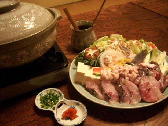 Okaya, Japón: あんこう鍋