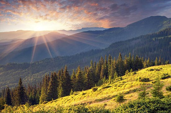 Vitosha Mountain and Lake near Sofia...