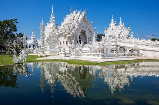 Templo Blanco - Triángulo Dorado...
