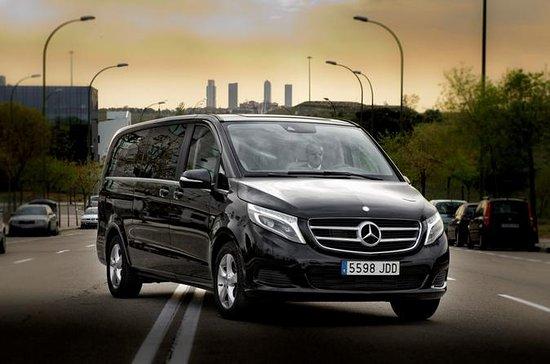 Arrivée Transfert privé Luxury Van...