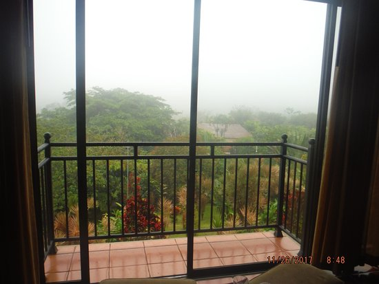 Arenal Kioro Suites & Spa: This photo was taken early in the morning. Enjoying nature.