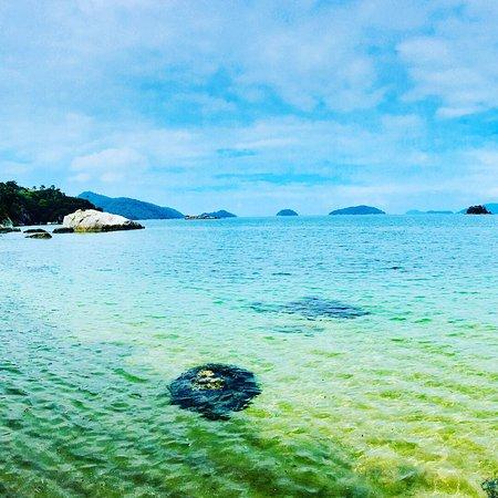Vila Galé Eco Resort de Angra: As praias do hotel são muito bonitas! Águas claras e calmas! Ideal para quem tem criança.