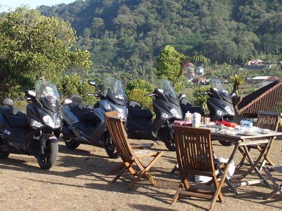Canggu, Indonesien: Breakfast at bedugul bali