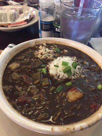 "League City, TX: Seafood Gumbo...the biggest bowl of gumbo for a ""small"" I've ever tried to eat!"