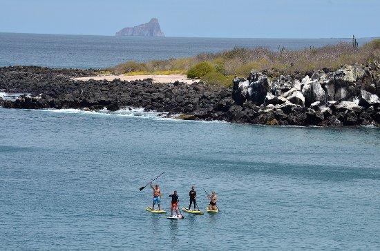 Puerto Baquerizo Moreno, Ecuador: Best place to SUP. Darwin Bay