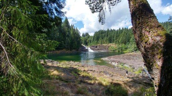Campbell River, Καναδάς: Elk Falls Provincial Park