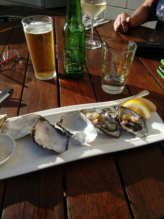 Fresh oysters (from just along the road...)