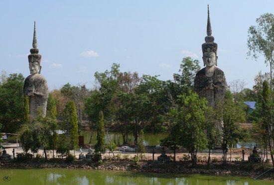 Nong Khai, Ταϊλάνδη: Eindrückliche Monumente