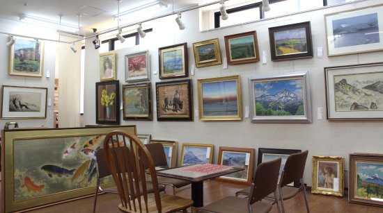 Exhibition Room D : Japanese antiques foto hokkaido art gallery sapporo
