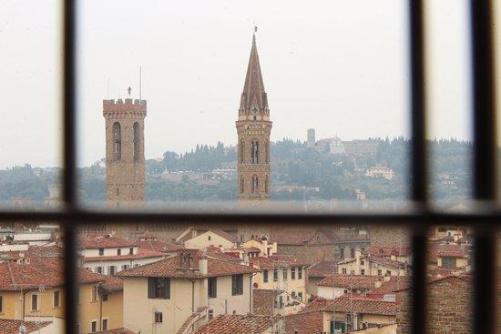 Campanile di Giotto: Çan kulesinden görünüm