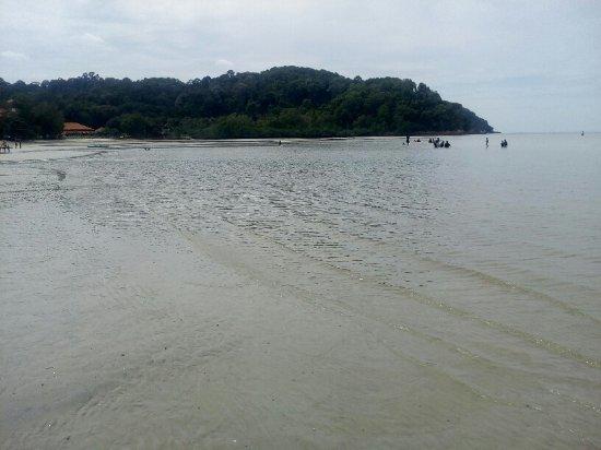 Port Dickson, Μαλαισία: Blue lagoon beach