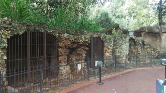 Perth Zoo : Old Cages