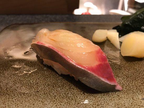 Hamachi Sushi Picture Of Kyo Japanese Hong Kong Tripadvisor