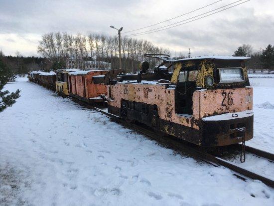 Ida-Viru County, Estonia: Поезд