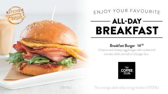 Coolum Beach, Australia: Breakfast Burger