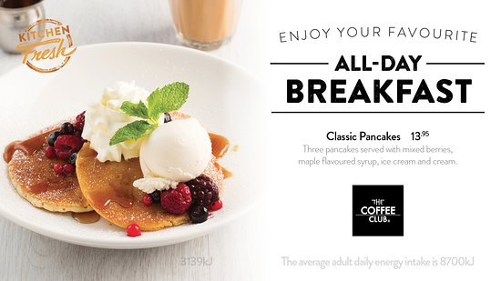 Coolum Beach, Australia: Classic Pancakes
