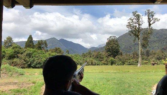 Franz Josef, Selandia Baru: the range
