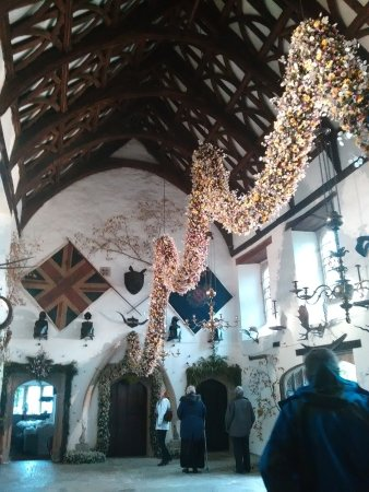 St Dominick, UK: The garland