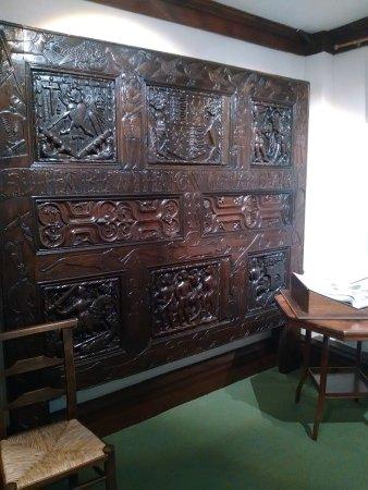 St Dominick, UK: Wonderful panel