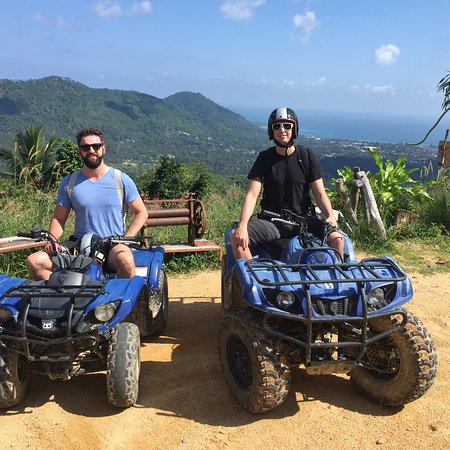 Maret, Tailandia: Quadrophenia ATV Mountain Tours