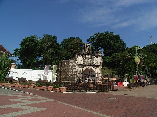A Famosa Fort: The place