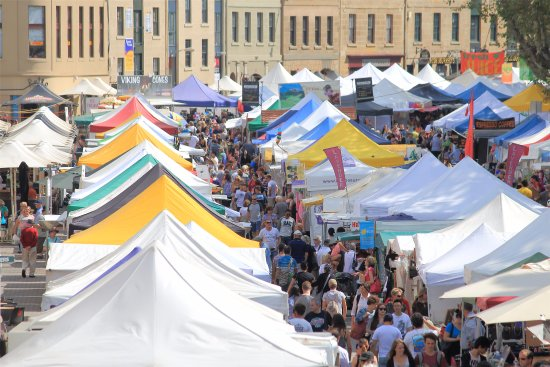 Campania, Australia: 3 Day Tour - See Hobart's local produce and culture at the Salamanca Markets.