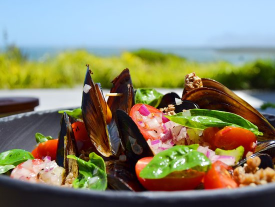 Botrivier, South Africa: mussels