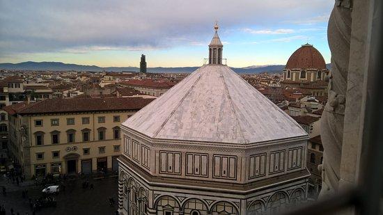 Campanile di Giotto: Vista dal campanile