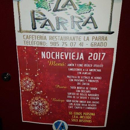 Grado, Spanje: Cafeteria Restaurante La Parra