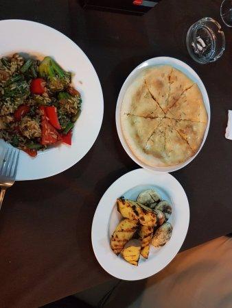 Slobozia, Rumania: Vegetarian dish
