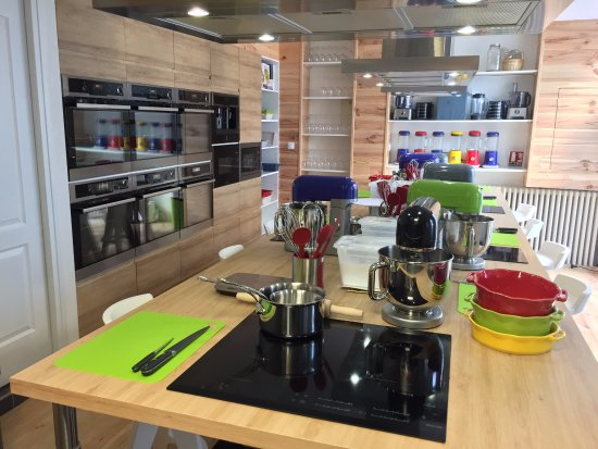 Венсен, Франция: Designed and fully equipped cooking school (4 to 15 people)