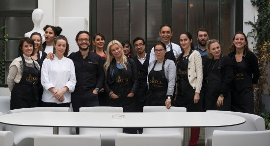 Vincennes, Γαλλία: Simone Zanoni* and his cooking team