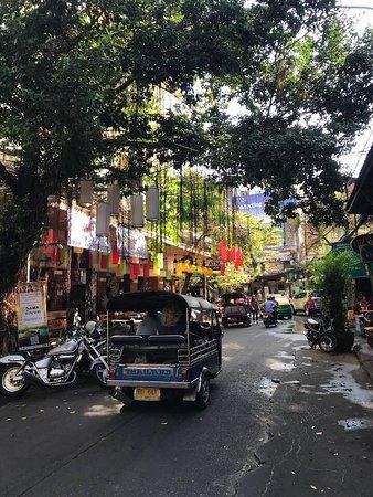 Khao San Road : tuk tuk