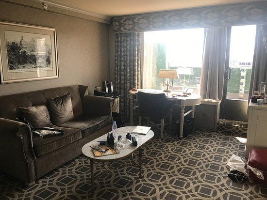 The Madison Washington DC, A Hilton Hotel: terrace room