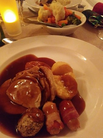 Ledsham, UK: First turkey of the 2017 season and it was yum!