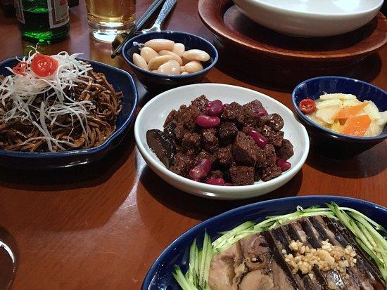 Made in China (Grand Hyatt): Tofu frit et vague terrine