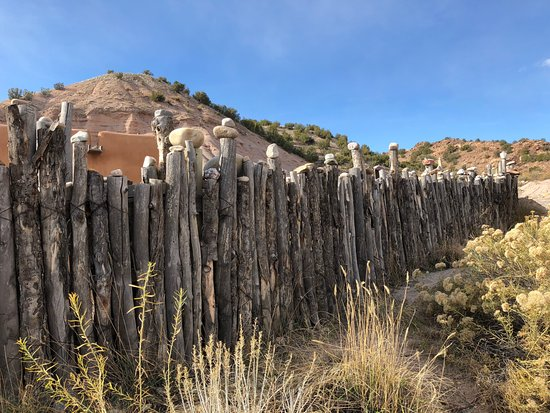 Ojo Caliente, Nuovo Messico: along one of the hiking trails