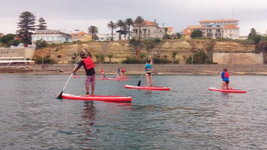 73447fe5d Stand Up Paddle Group Lessons - Picture of Cascais Experiences ...