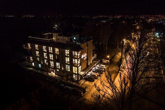 Mielno, Polen: Widok z drona